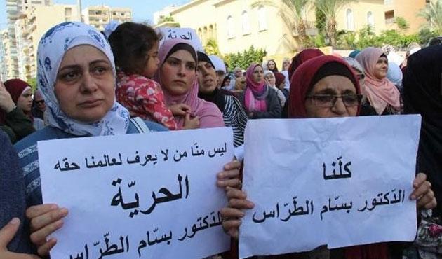 Lübnan'da eski müftüye gözaltı gerginliği