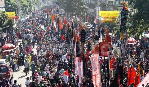 Pakistan Muharrem törenlerinde Sünni-Şii kardeşliği