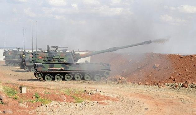 TSK 91 DEAŞ hedefini vurdu
