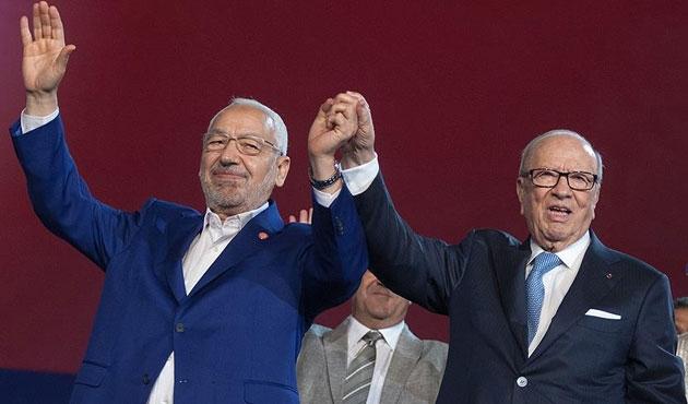 Tunus Cumhurbaşkanı Gannuşi'yi kabul etti