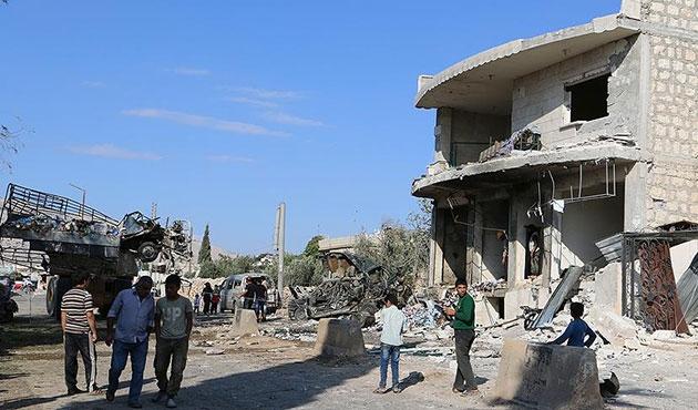 İdlib'de hava saldırısı; 10 ölü