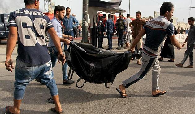 Bağdat'ta intihar saldırısı: 31 ölü, 50'den fazla yaralı