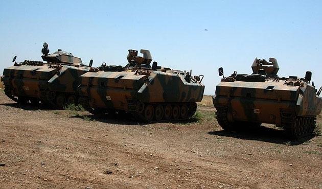 TSK'dan DEAŞ'a bir yılda 6 bin 820 atış