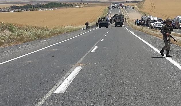 PKK'lıların sakladığı 50 kiloluk patlayıcı imha edildi