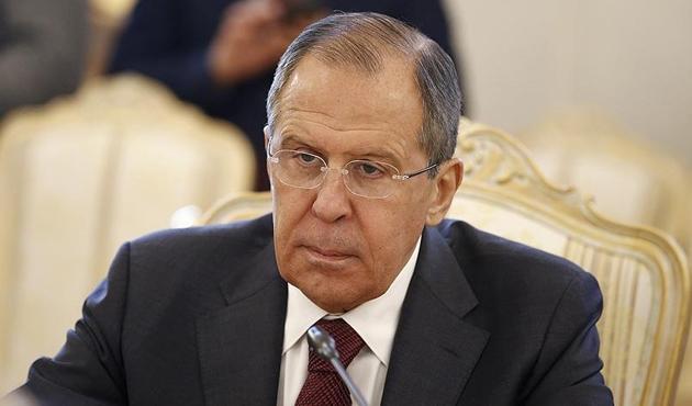 Rusya Dışişleri Bakanı Lavrov'dan 'Suriye' açıklaması