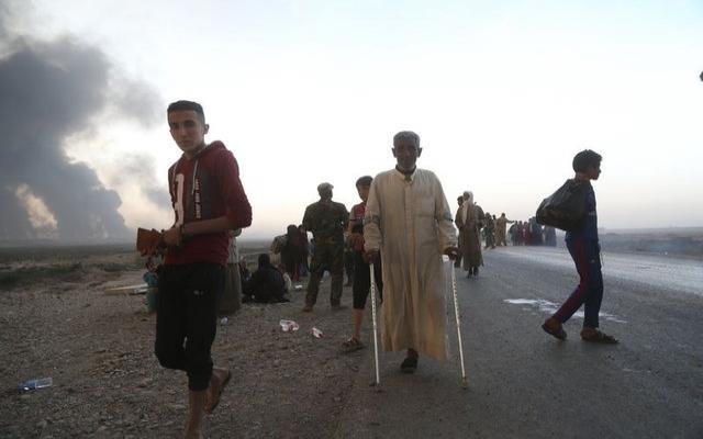 Musul'dan kaçışlar başladı | FOTO