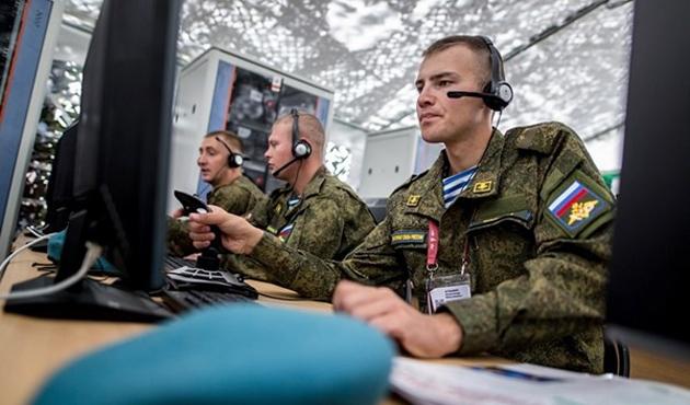 Rus askerine özel internet