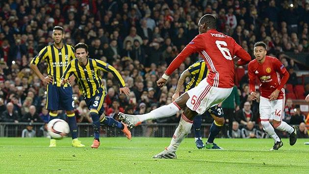 Fenerbahçe Manchester United'a farklı mağlup oldu