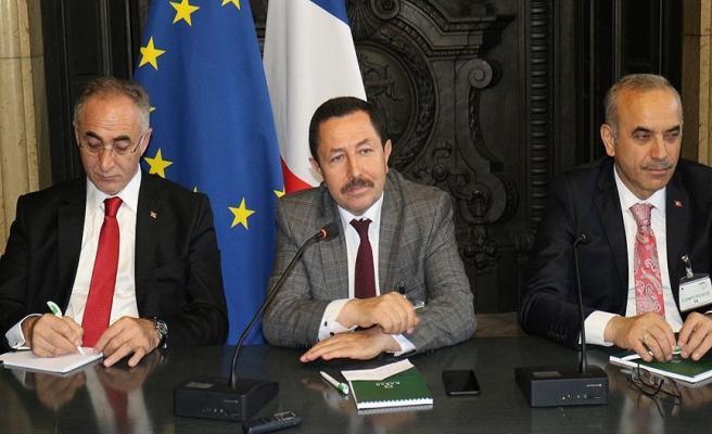Ordu Valisi Balkanlıoğlu'nun Fransa temasları