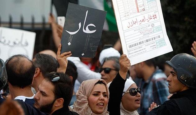 Ürdün'de İsrail'le anlaşmaya tepki