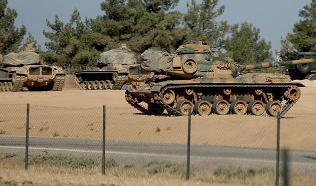 Türk tanklarının Suriye'ye girdiği iddiasına yalanlama