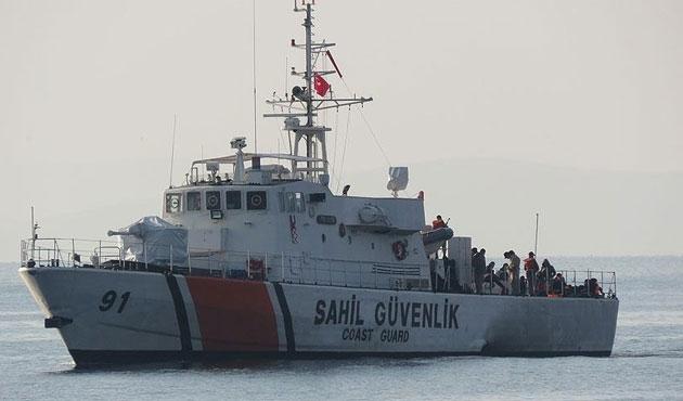 Mahsur kalan 57 sığınmacı kurtarıldı