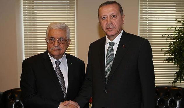 Erdoğan, Abbas'la görüşecek