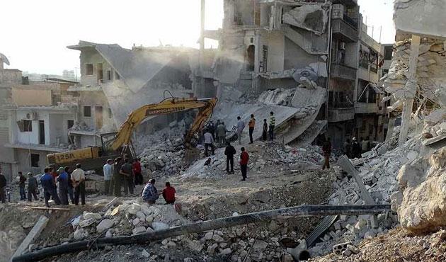 İdlib'de yerleşim yerine saldırı