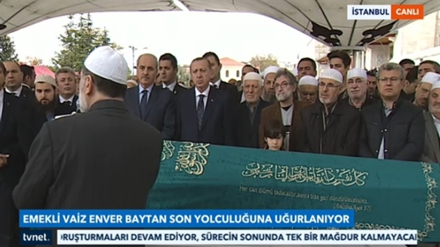 Enver Baytan'a son görev