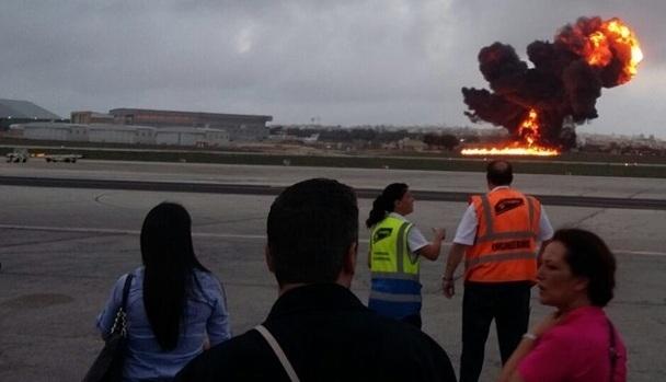 Malta'daki uçak kazasında ölenler Fransız istihbaratçılarmış