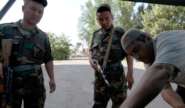 Kırgızistan ordusunda yolsuzluk
