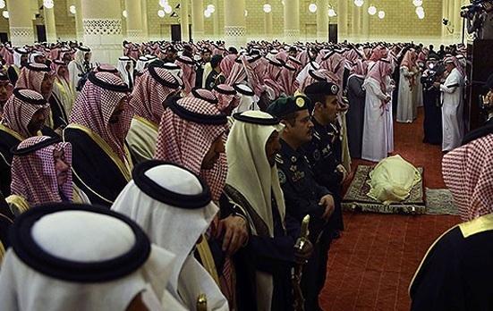 Katar Emiri'nin dedesi son yolculuğuna uğurlandı