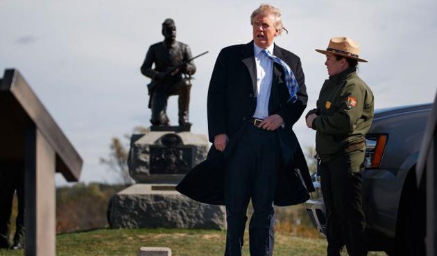 Trump Beyaz Saray'ın yakınına otel açtı