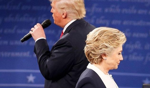 Clinton ve Trump'tan Musul atışması