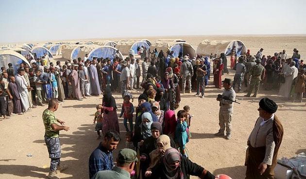 Musul operasyonu 7 bin kişiyi evinden etti
