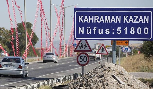 Kazan artık 'Kahramankazan'