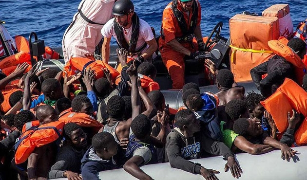 Avrupa'ya göç sıralamasında Nijerya üçüncü