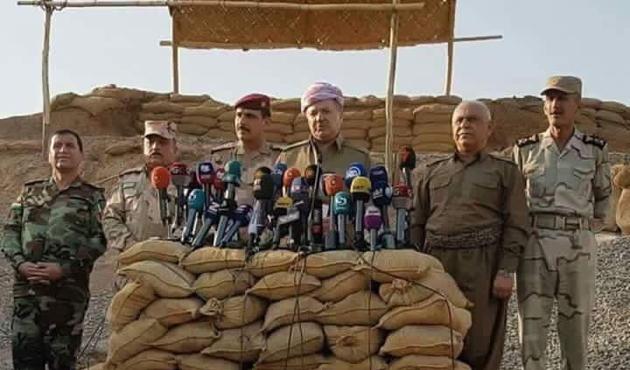 Barzani Peşmerge'nin Musul'a girmeyeceğini açıkladı