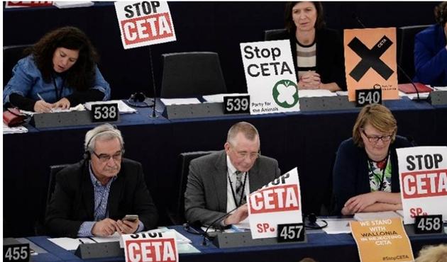 CETA zirvesi iptal edildi
