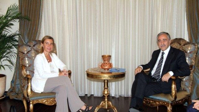 AB'nin üst düzey yetkilisi Kıbrıs'ta