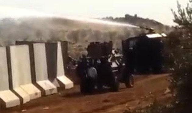 Hatay'ın Afrin sınırında duvar gerginliği
