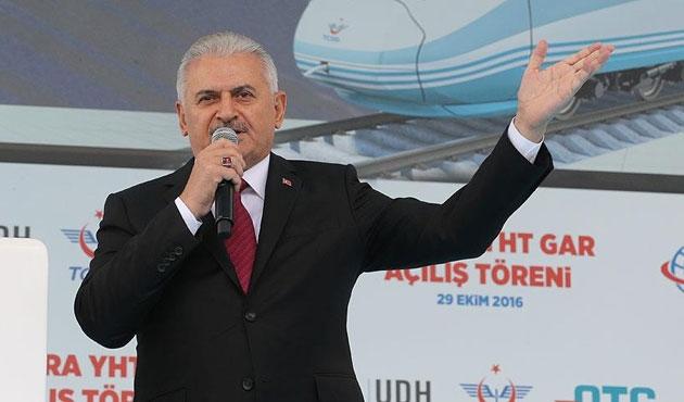 Ankara'da YHT Garı açılıyor