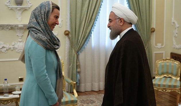 AB Yüksek Temsilcisi Mogherini İran'da