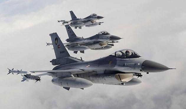 TSK'dan Irak'a hava harekatı; 10 PKK'lı öldü