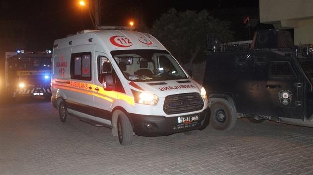 Mardin'de Ak Parti binasına saldırı