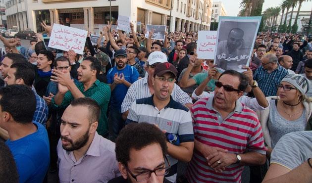 Fas'ta protestolar büyüyor
