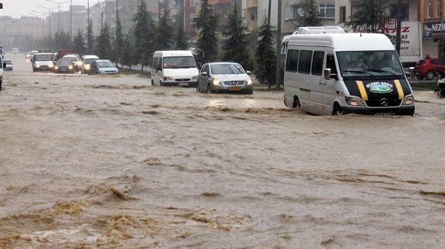 Doğu Akdeniz'e sel uyarısı