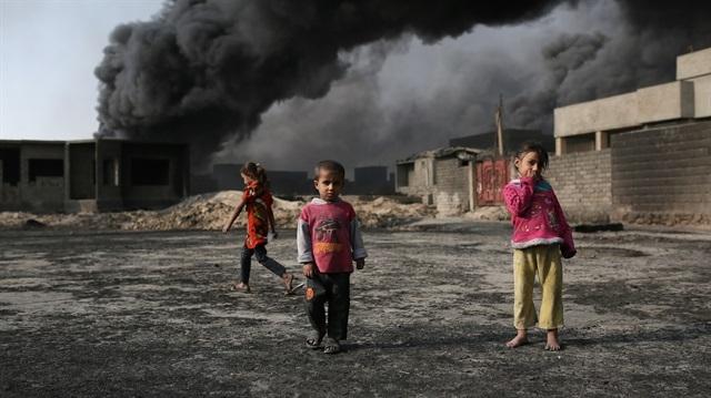 İki milyar çocuk zehirli hava soluyor