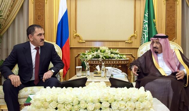 İnguşetya lideri S.Arabistan'da