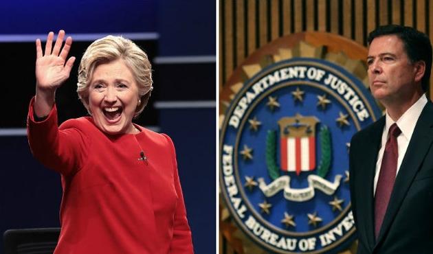 ABD seçimlerinde Clinton'a FBI'dan 'çifte standart'