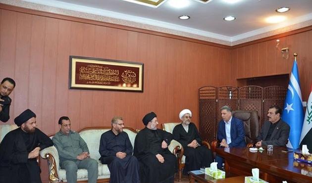 Sadr'dan Irak Türkmen Cephesine ziyaret