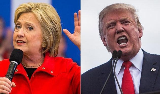 Trump'tan Clinton'a 'ön seçim' suçlaması