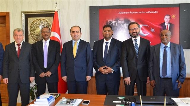 Cibutili öğrenciler Çankırı'da yüksek lisans yapacak