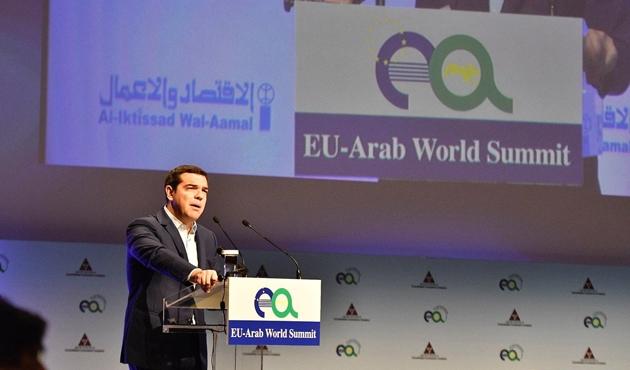 Atina'da Avrupa-Arap ülkeleri toplantısı