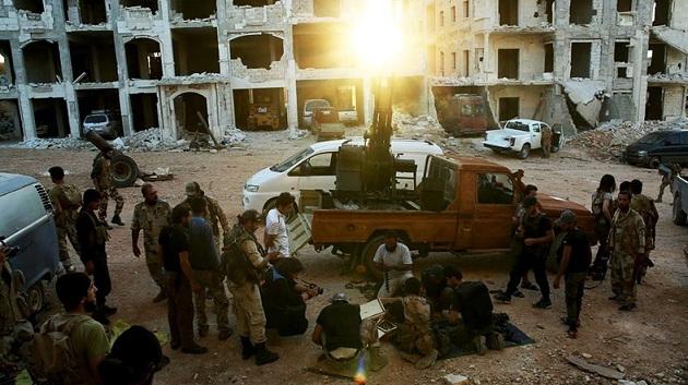 Muhaliflerin Halep operasyonunda ikinci aşama