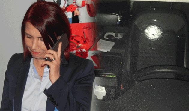 CHP'li Başkanın makam otomobiline kurşun