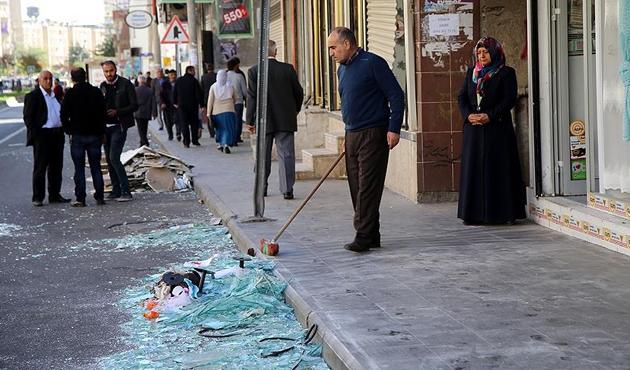 Diyarbakır'da vatandaştan PKK'ya büyük tepki