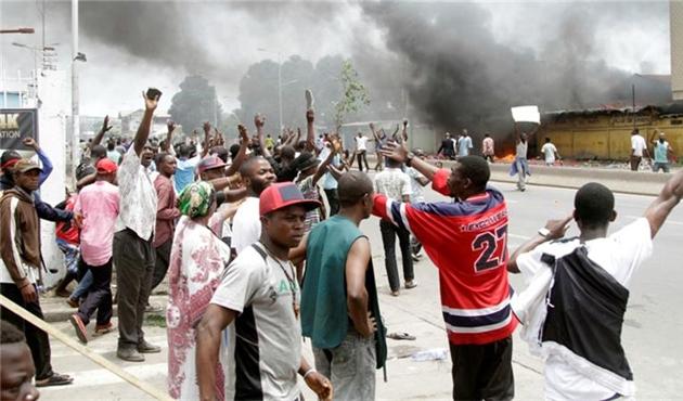 Kongo'da UCM karşıtı gösteri