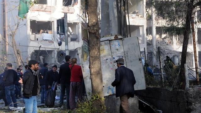 Başbakan Yıldırım: 5'i sivil 8 kişi hayatını kaybetti