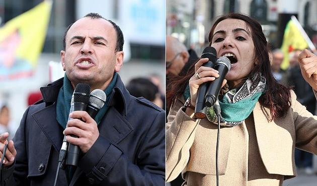 Kaçak HDP'li vekiller Brüksel'de görüntülendi